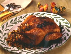 Zingy Peachy Roast Chicken