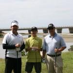 Steele Hunter, Den Arthur Lipata, & Alden Lipata