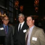 Bill Mattos (CPF), Dalton Rasmussen (Squab Producers), Tim Nilsen (Nilsen Farms)