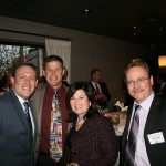 Dillon Gibbons (Office of Assemblymember Anthony Cannella), Bob Wolfe (Foster Farms), Maria Silveira (Foster Farms)