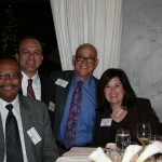 Senator Reggie Jones-Sawyer, Assemblymember Raul Bocanegra, Bill Mattos, Maria Silveira (Foster Farms)