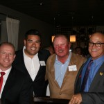 Tom Bower (Foster Farms), Senator Ricardo Lara, Willie Benedetti (Willie Bird Turkeys), Bill Mattos