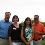 Matt & Sharon Junkel,  Mike & Christi Leventini