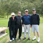 Lillian Zacky, Leo Zacky, Steve Strand, and Randy Dickson